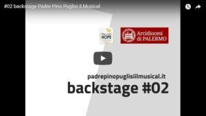 #02 backstage Padre Pino Puglisi il Musical