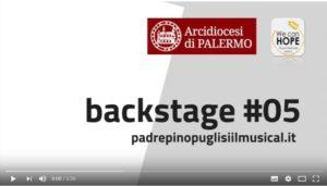 #05 backstage Padre Pino Puglisi il Musical