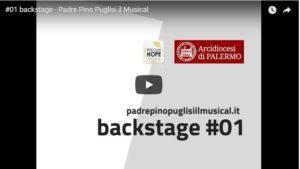 #01 backstage - Padre Pino Puglisi il Musical