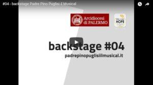 #04 - backstage Padre Pino Puglisi il Musical